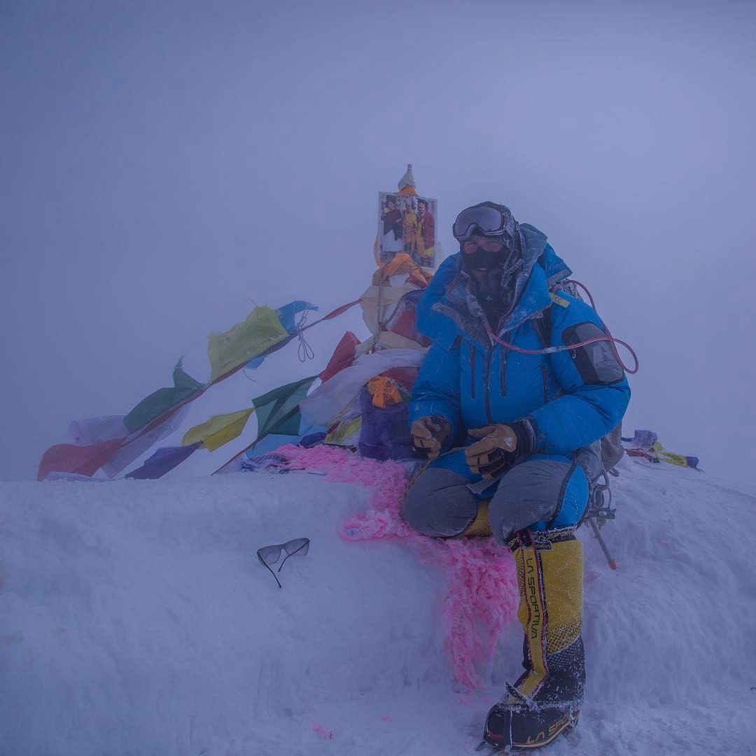 Ben Jones Everest Summit, Spring 2017